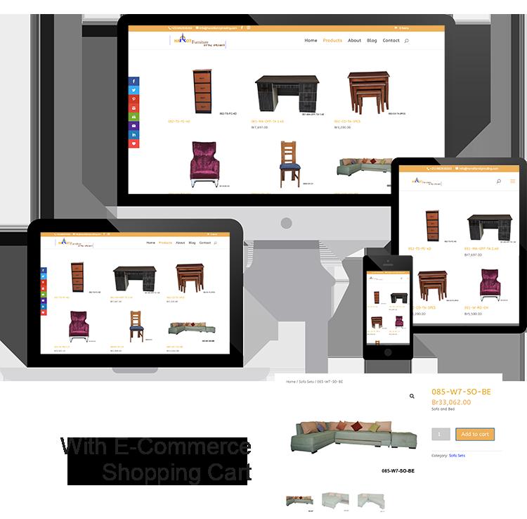 Harot Furniture Website